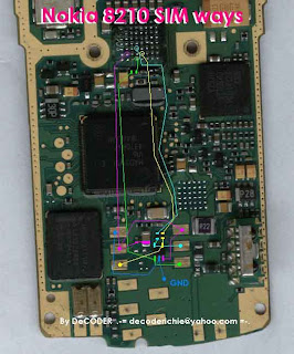 Trik Jumper  simcard nokia 8210 solution