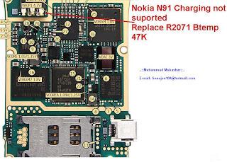 Trick Jumper Nokia N91  charging