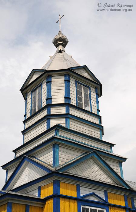 дзвіниця церкви в Тимошівці