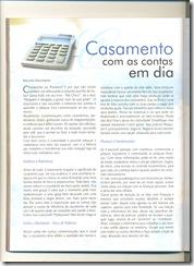 Matéria - Casamento com as contas em dia - Pagina 01