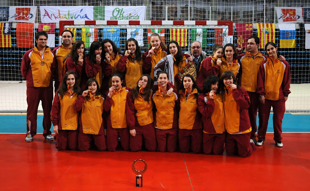 Campeonato espa�a cadete femenino castilla le�n Almer�a