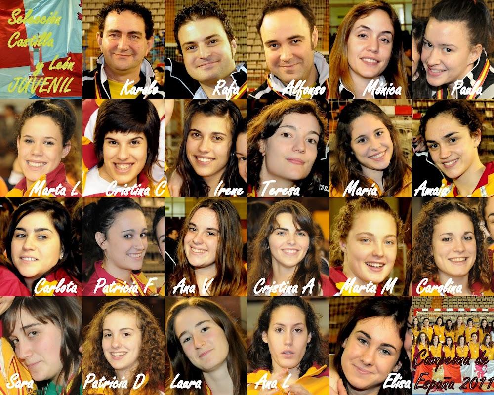Selecci�n de Castilla y Le�n Juvenil Femenina, Campeona de Espa�a 2011