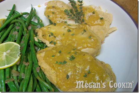 Manderan Chicken w/Garlic and Thyme