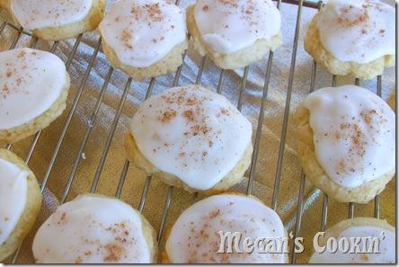 Buttermilk Cookies w/ Nutmeg
