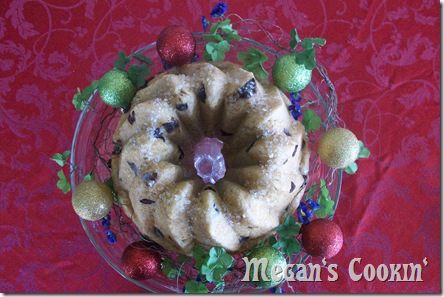 Christmas Challah Bread with Orange and Chocolate Chip
