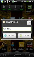 Screenshot of ToodleTask