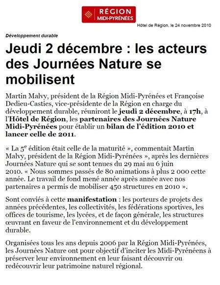 comunicat Miègdia-Pirinèus e Natura (fr)