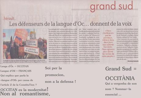 DDM Occitan a la manifestacion