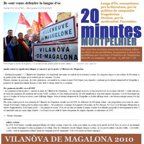 20 minutes 13122010 vilanòva de magalona