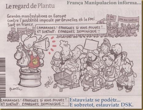 DSK en vendut per l'intelligéncia parisenca coma lo melhor candidat d'esquèrra