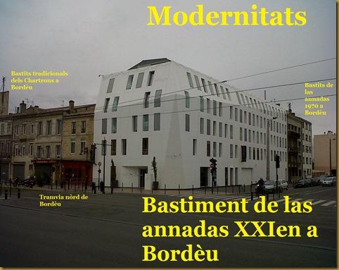 Bastir a Bordèu, tres sègles diferents