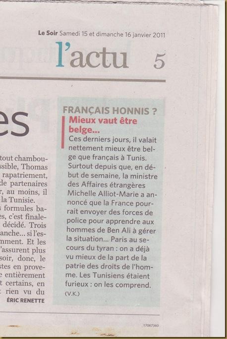 Tunísia França e LeSoir 170111