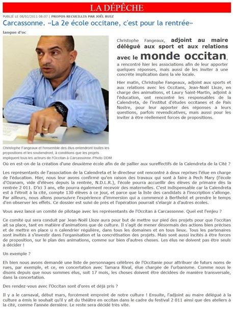 monde occitan DDM 080211