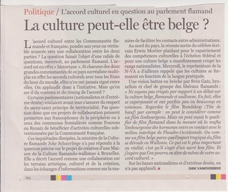 cultura belga
