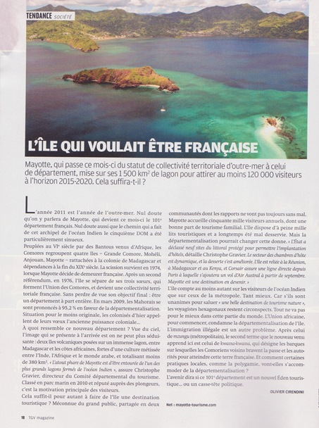Mayotte TGV Magazine