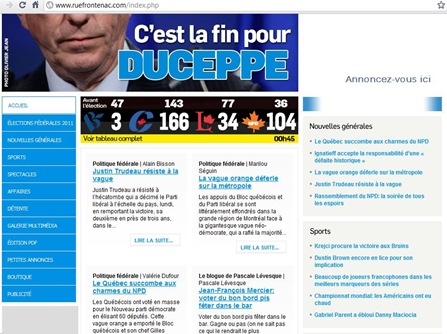 Duceppe Blog Quebecois