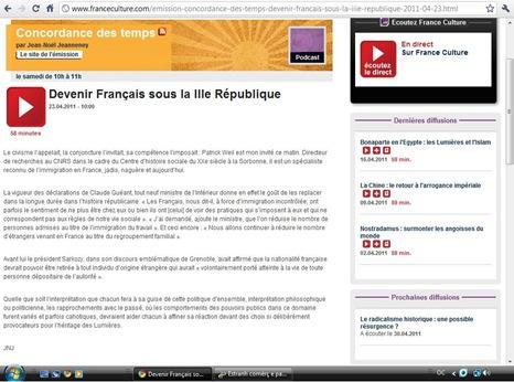 programa de France Culture utile