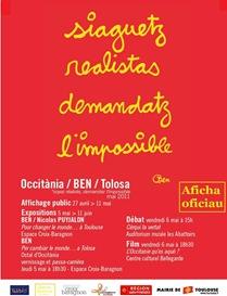 Ben a Tolosa en mai 2011 aficha oficiau -