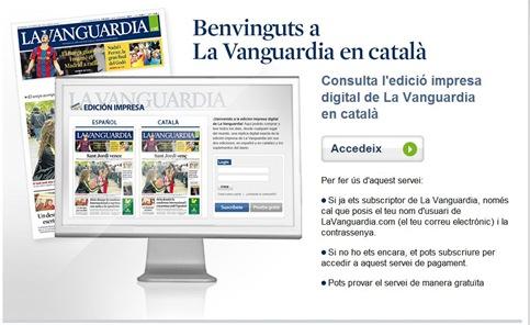 La Vanguardia en català (2)