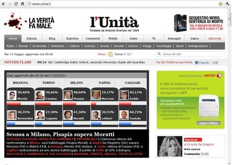 eleccions en Itàlia L'Unità 170511