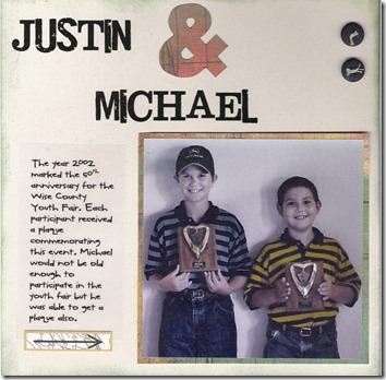 Justin & Michael
