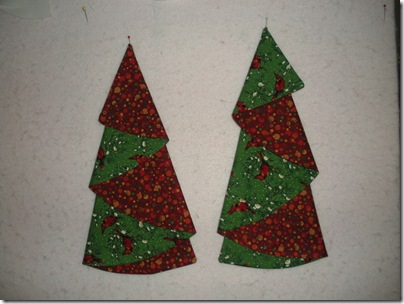 Christmas Tree Napkins 002