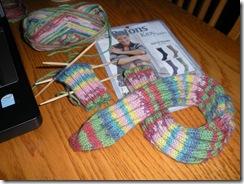 Spiral Sock 002