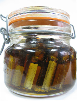 bulk jar with degraded preservative