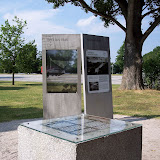 Grundstenen till Deutsches Stadion - utgrävningen gjordes, men byggnationen blev aldrig av