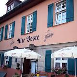 Alte Veste - Schnitzel stora som dasslock. Gott smakade det också.