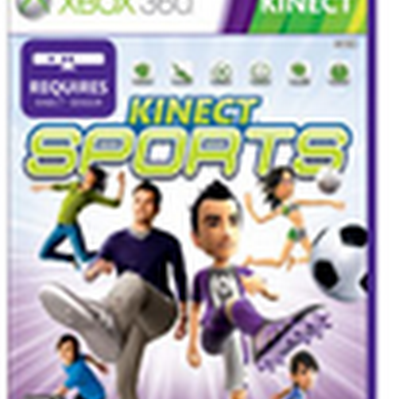 Quais sãos os primeiros jogos para Kinect