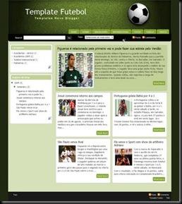 template futebol