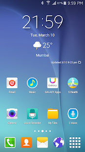 S6 Launcher Theme Apk