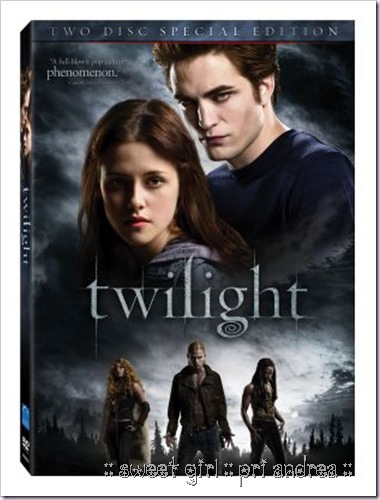 Capa DVD Crepusculo - Twilight