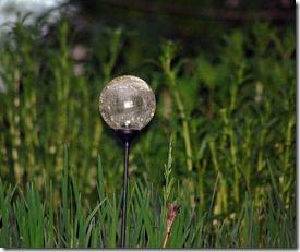 small glass ball