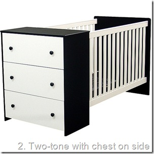 crib with drawers
