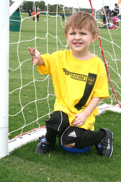 First Soccer Game and More 010