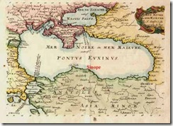 Blacksea-map-sinop-history