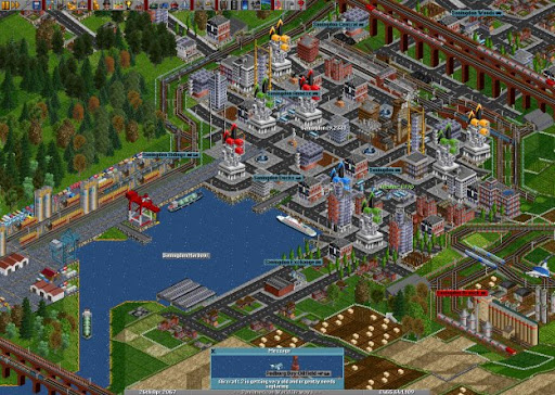 OpenTTD - Open Source clone of Transport Tycoon Deluxe
