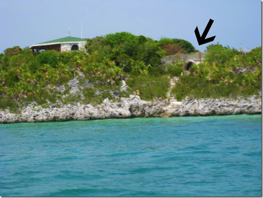 Johnny Depp's House in the Bahamas