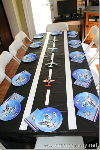 The mcmommy chronicles come fly with me an airplane party for Airplane party decoration