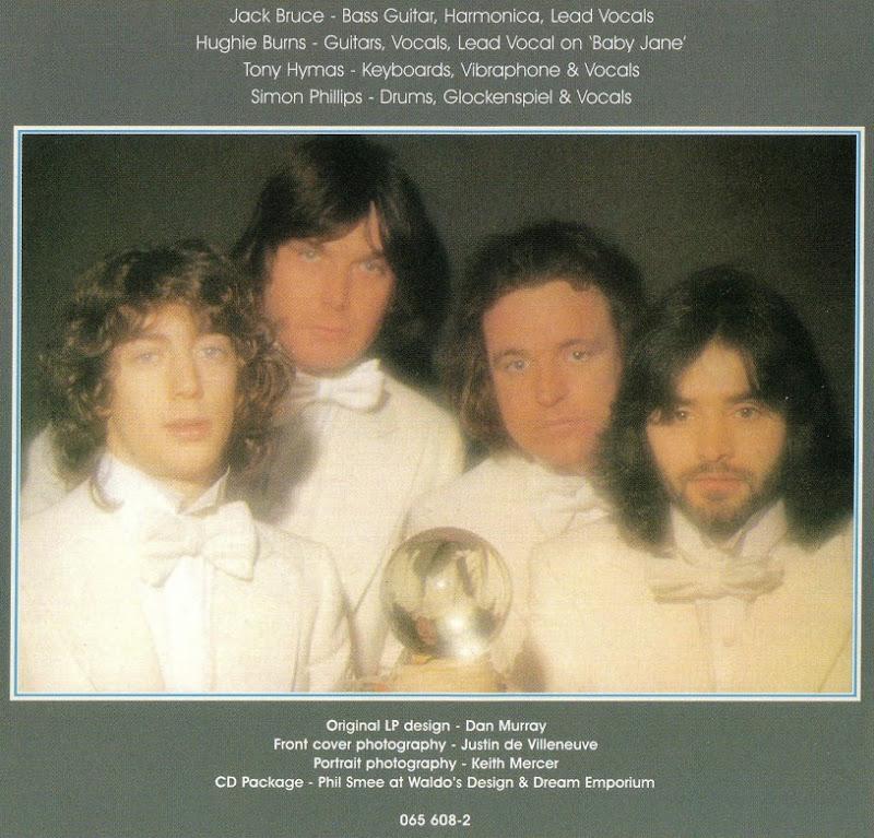 Jack Bruce Band ~ 1977 ~ How's Tricks inside
