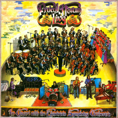 Procol Harum ~ 1972 ~ Live In Concert With The Edmonton Symphony Orchestra