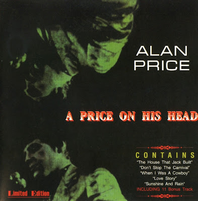 Alan Price ~ 1967 ~ A Price on His Head