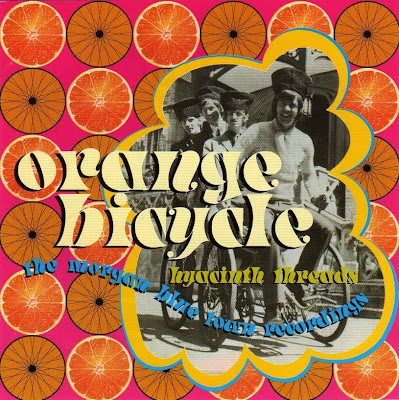 Orange Bicycle ~ 2001 ~ Hyacinth Threads