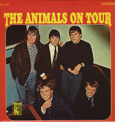 the Animals ~ 1965 ~ The Animals On Tour