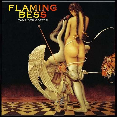 Flaming Bess ~ 1979 ~ Tanz Der Götter alternative cover