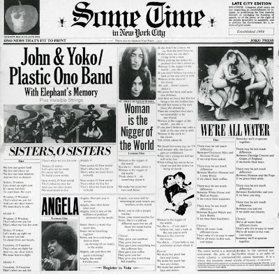 John & Yoko / Plastic Ono Band ~ 1972 ~ Sometime in New York City