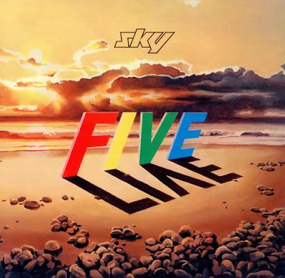 Sky ~ 1983 ~ Five Live