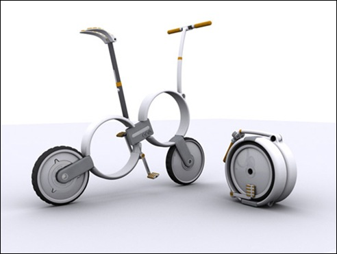 One - Folding Bicycle Concept 01